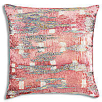 Blush, Pink and Ivory Velvet with shibori print and gold foil and metallic embroidery.