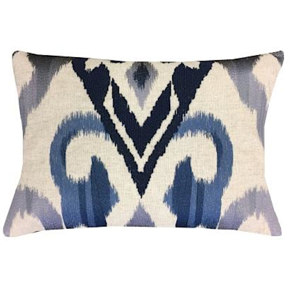 Cloud9 Design Mayaro Grey Ombre Embroidery Decorative Pillow