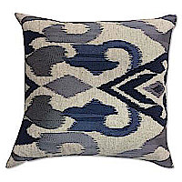 Cloud9 Design Mayaro Grey Ombre Embroidery Decorative Pillow
