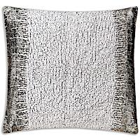 Cloud9 Design Mayaro CA2469J-GY Grey Rouche/Gunmetal Decorative Pillow