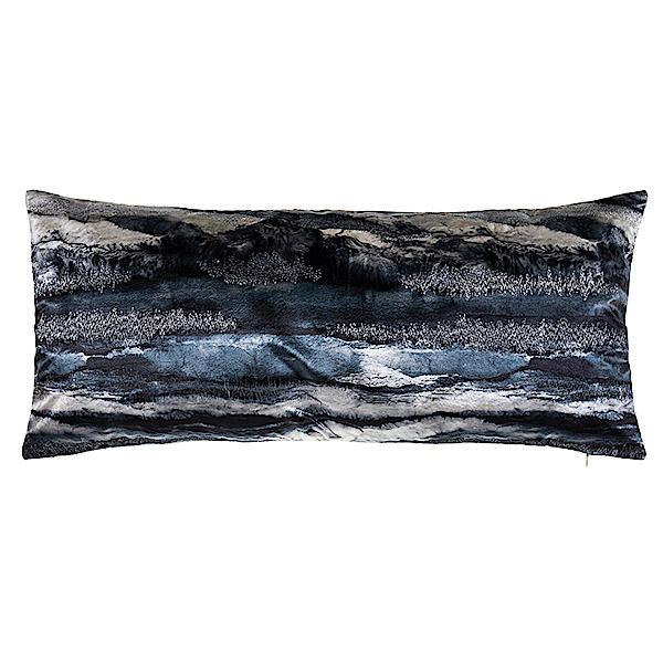 Cloud9 Design CAPRI02E-CHL (14x31) Capri Tie Dye with Metallic Embroidery Decorative Pillow