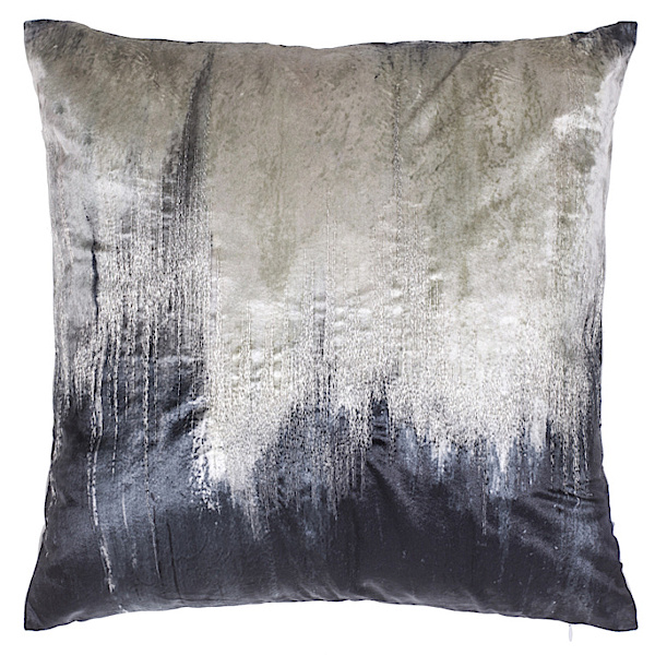 Cloud9 Design CAPRI01J-CHL (22x22) Capri Tie Dye with Metallic Embroidery Decorative Pillow