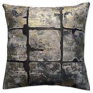 Cloud9 Design Char Nine Square Decorative Pillow