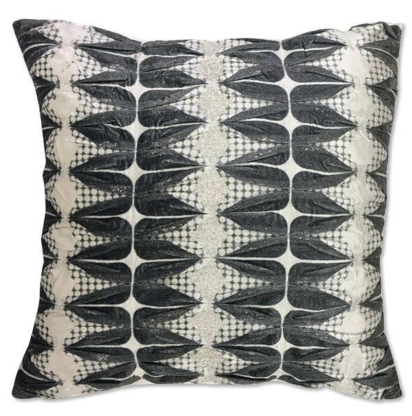 Cloud9 Design CORSICA01J-GY (22x22) Decorative Pillow