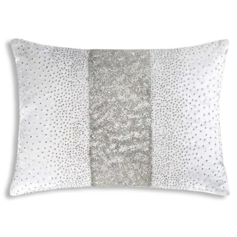Cloud9 Design Crystal Decorative Pillow - 601AC-IV (14x20)