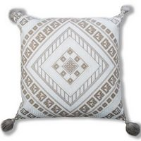 Cloud9 Design IRIS01A-IVNAT (20x20) Iris Decorative Pillow