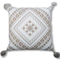 Cloud9 Design IRIS01A-IVNAT (20x20) Iris Decorative Pillow