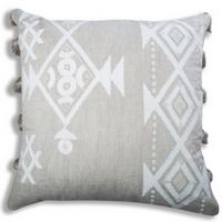 Cloud9 Design IRIS02J-IVNAT (22x22) Iris Decorative Pillow