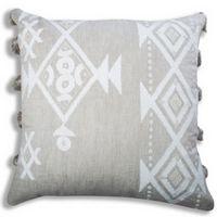 Cloud9 Design IRIS02J-IVNAT (22x22) Iris Decorative Pillow