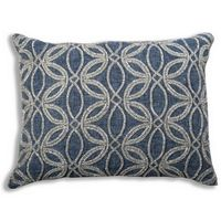 Cloud9 Design RIS02C-IVNY (14x20) Iris Decorative Pillow