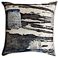 Experience the pizzazz of these digital printed decorative pillows by Cloud9 Design.