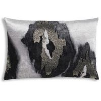 Cloud9 Design JADE01C-GY (22x22) Iris Decorative Pillow