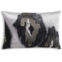 Cloud9 Design JADE01C-GY (22x22) Iris Decorative Pillow