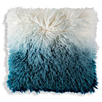 The Luna decorative pillows are available in many different colors.