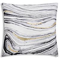 Cloud9 Design Mayaro Gold Brushstroke Decorative Pillows