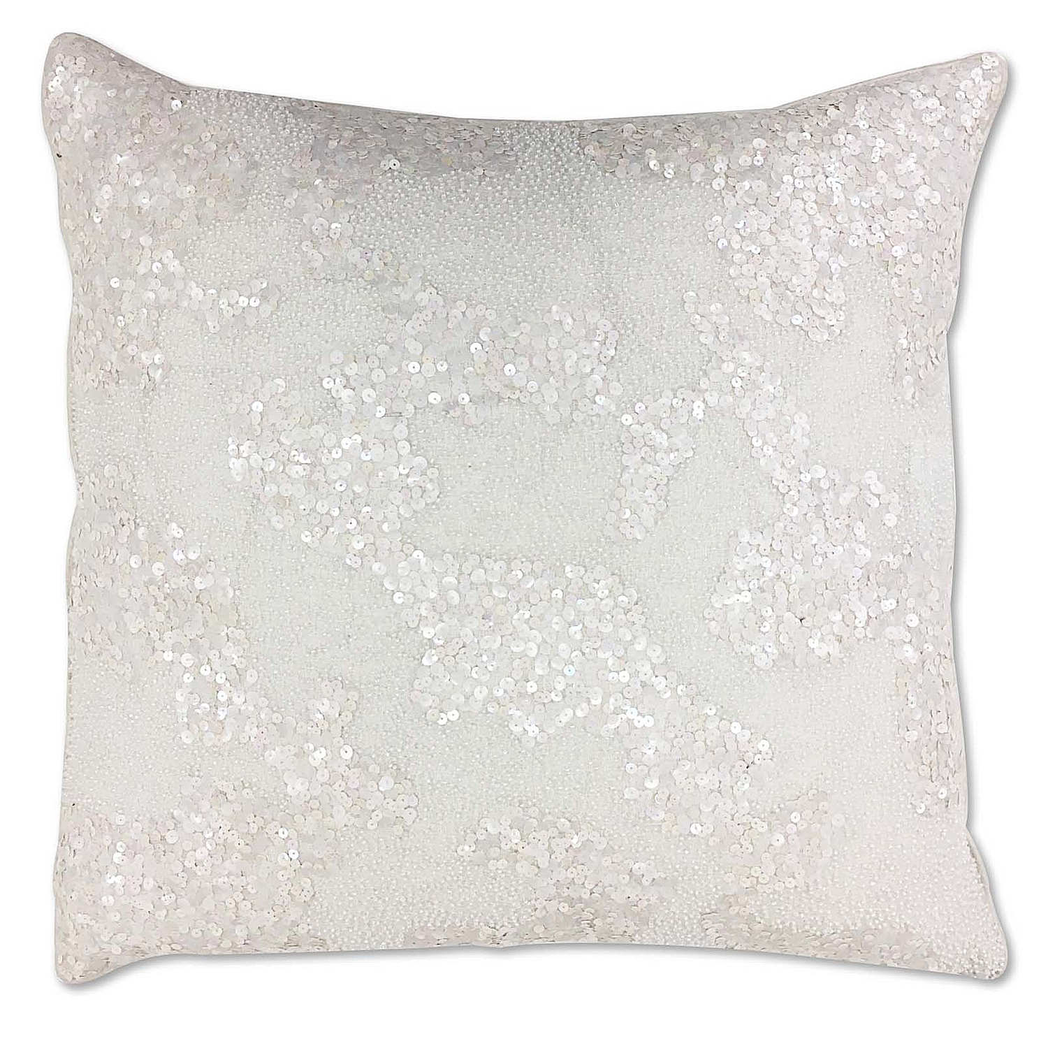 Cloud9 Design 13331J Wt (22X22) Oslo Decorative Pillow