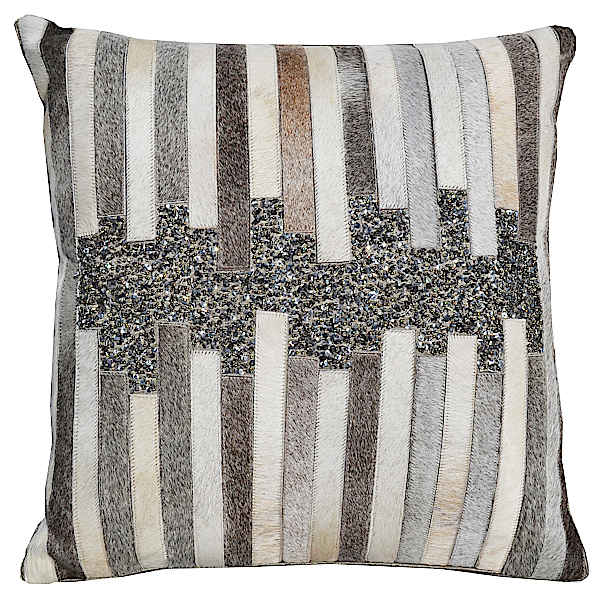 Cloud9 Design 13150EA-GY (20x20) Pelle Decorative Pillow