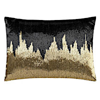 Cloud9 Design RICA07C-BKGD Decorative Pillow