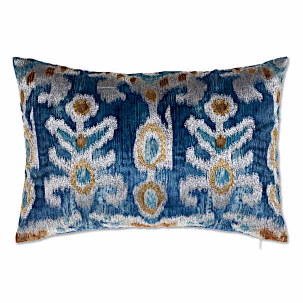 Cloud9 Design Serino Decorative Pillows - SERINO02C-BL (14x20)