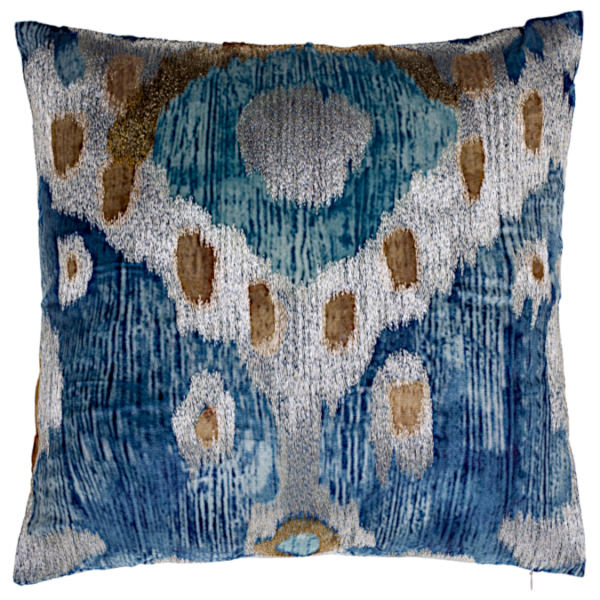 Cloud9 Design Serino Decorative Pillows - SERINO03J-BL (22x22)