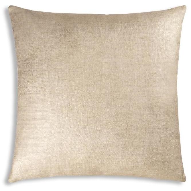 Cloud9 Design Aura01a Gd Terequite Gold Foil Decorative Pillow