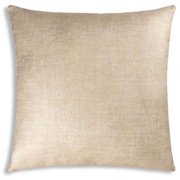 Cloud9 Design Terequite Foil Decorative Pillows - 20x20 Gold