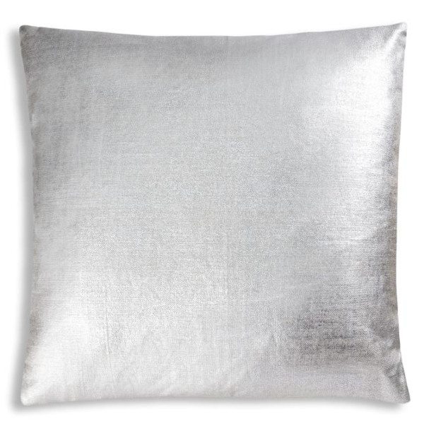 Cloud9 Design Terequite Foil Decorative Pillows - 20x20 Silver