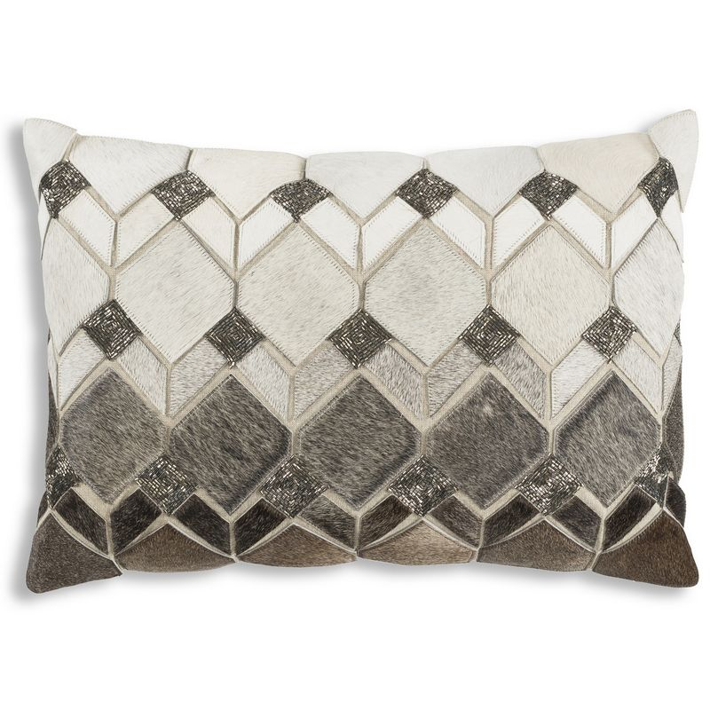Cloud9 Design THEO02C-GY (14x20) Theo Decorative Pillow