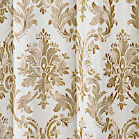 Costa is a family of linen drapery panels with different color embroidery.