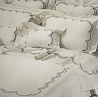Embroidered bedding by Cottimaryanne - Ingrid style