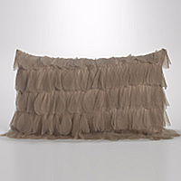 Couture Dreams Chichi Decorative Pillow will dress up any room.