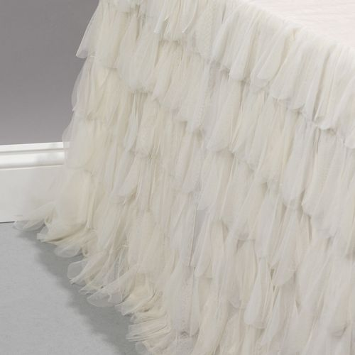 Couture Dreams Chichi Ivory Bed Skirt