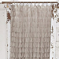 Couture Dreams Chichi Petal Shower Curtain