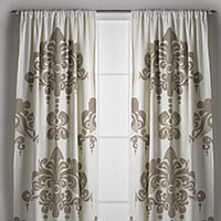 Couture Dreams Enchantique Ivory Window Curtain is what we like to call a French inspired Art Deco with a Modern Twist.