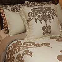 Couture Dreams Enchantique Duvet Cover makes a statement - it adds enchantment to your bedroom.