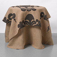 Couture Dreams Enchantique Jute Table Toppers are what we like to call a French inspired Art Deco with a Modern Twist.