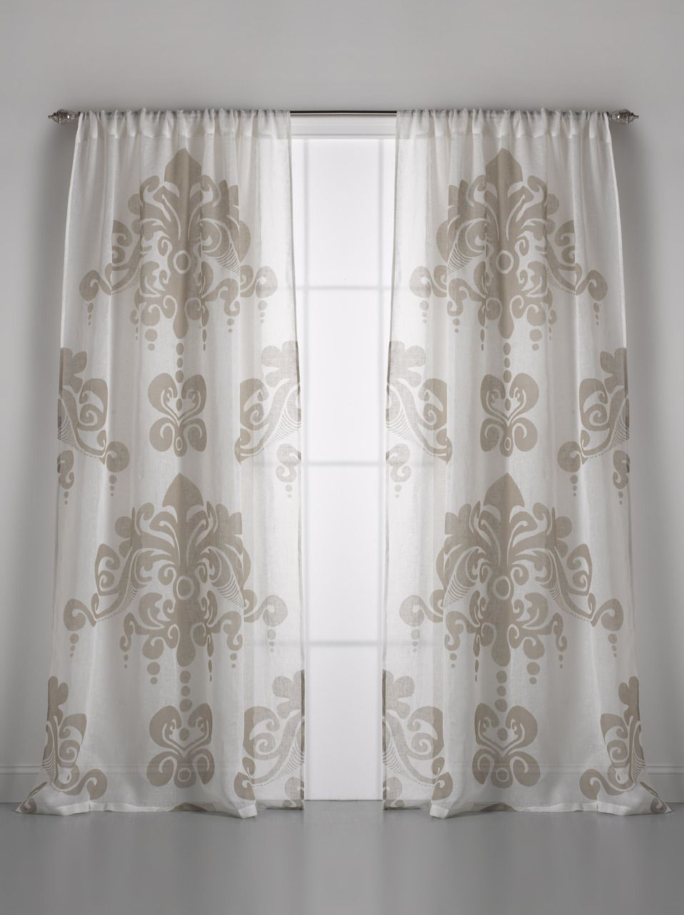 Couture Dreams Enchantique Linen Gauze Window Curtain