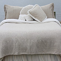 Couture Dreams Heavenly Silk Coverlet, Soft.....Beautiful....Woven.....Tailored.
