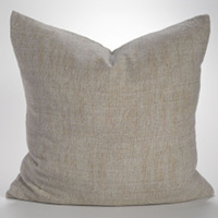 Couture Dreams Heavenly Silk Euro Sham is soft and tailored.