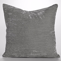 Couture Dreams Luscious Platinum Decorative Pillow is the perfect staple to decorating a room.