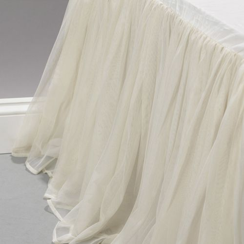 Couture Dreams Whisper Ivory Bed Skirt