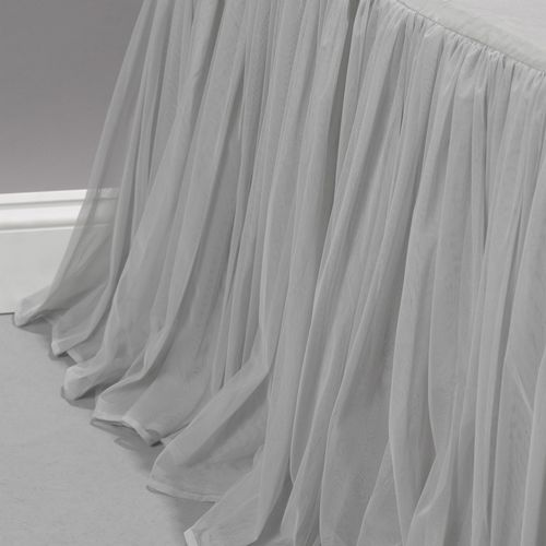 Couture Dreams Whisper Platinum Bed Skirt