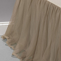 Couture Dreams Whisper Ivory Bedskirt, beautiful....gathered.....tailored