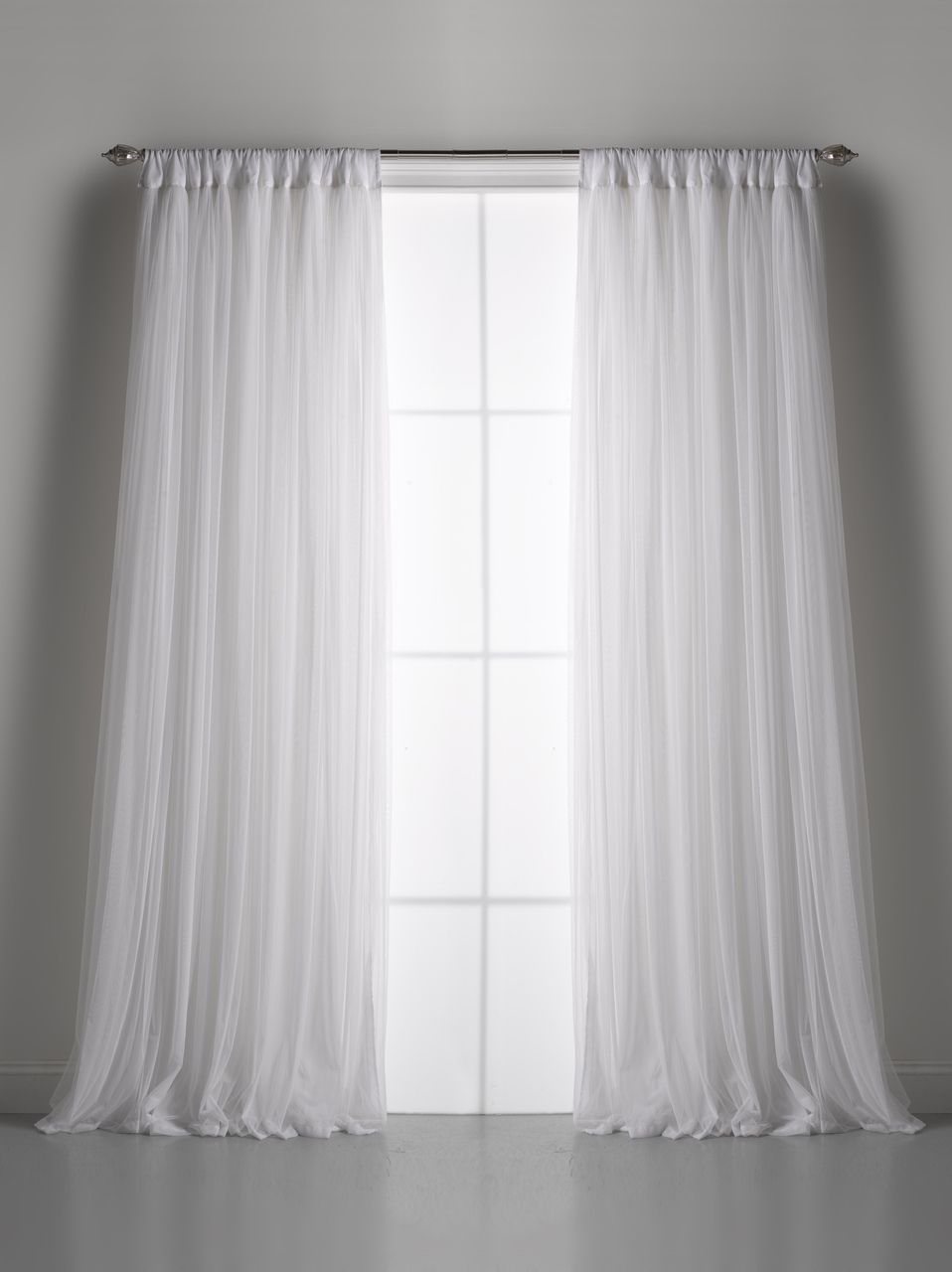 Window Curtains: Couture Dreams Whisper Window Curtain