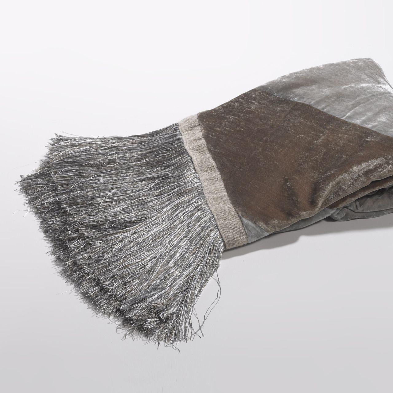 Couture Dreams Luscious Silk Velvet Throw