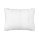 Dena Atelier Decorative Pillow Chainlink Embroidered