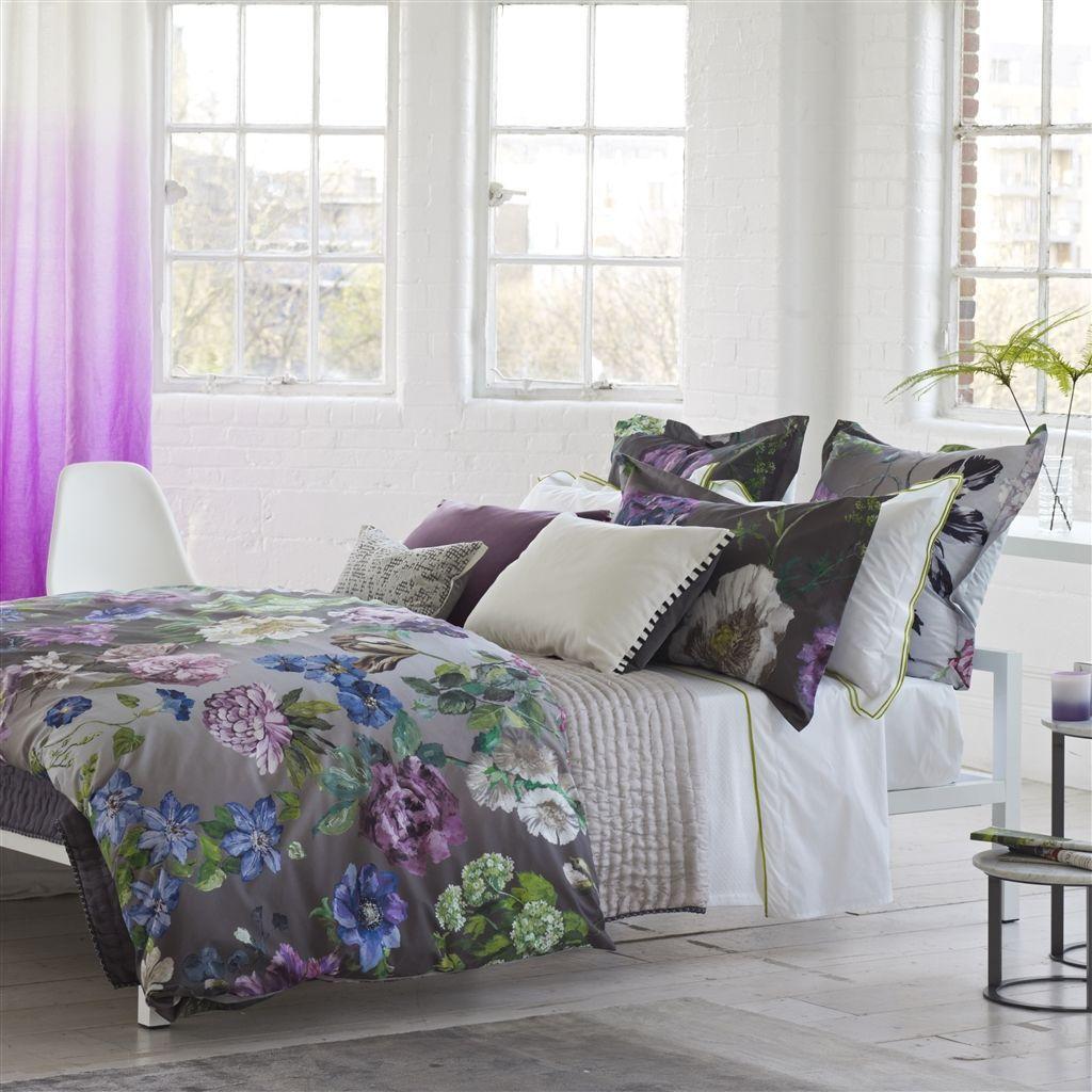 Designers Guild Alexandria Amethyst Bedding