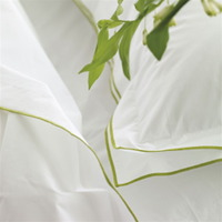 A beautiful 400 thread count cotton bed linen, the quality you would expect in a luxurious hotel.