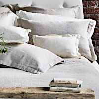 Designers Guild Biella Ivory Bedding