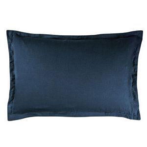 Designers Guild Biella Midnight and Wedgwood Pillow Sham